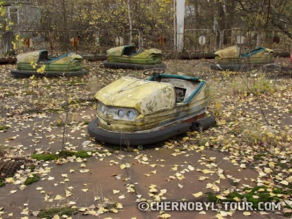Машинки - парк аттракционов в Припяти