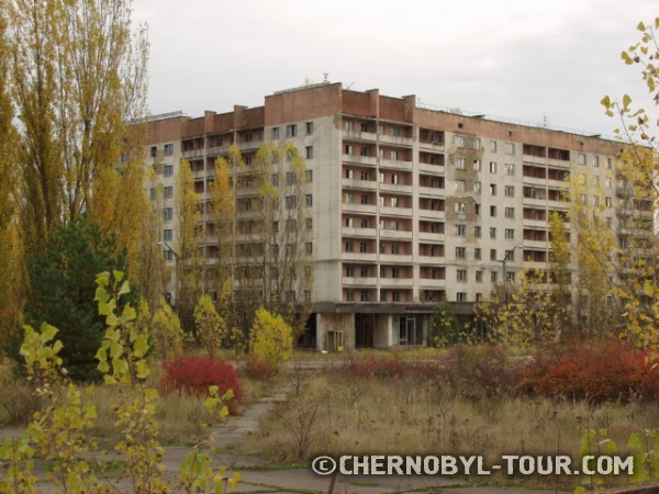 Центральная площадь Припяти