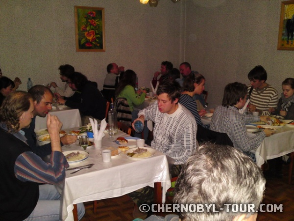 Ужин в г. Чернобыль