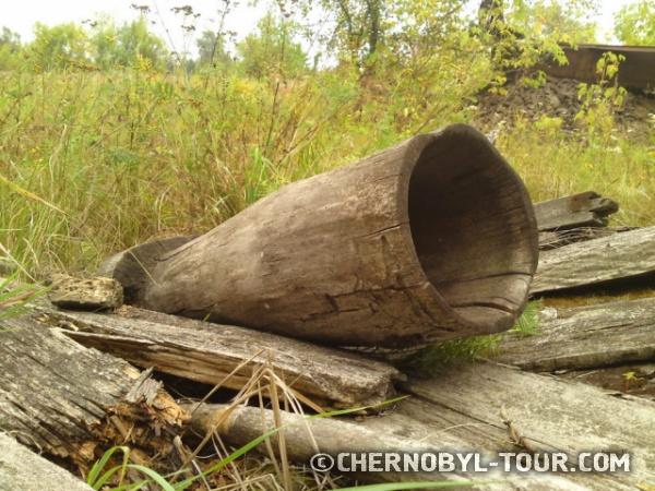 Деревянная ступа в с. Черевач