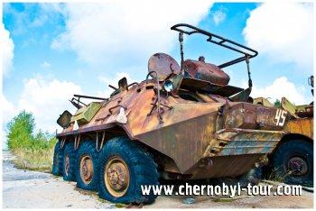 Трьох-і чотириденні поїздки в Чорнобильську зону, Прип'ять