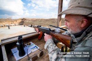 Стрелковый полигон тир под Киевом